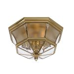 Elstead Newbury QZ/NEWBURY/F  Flush Ceiling Light